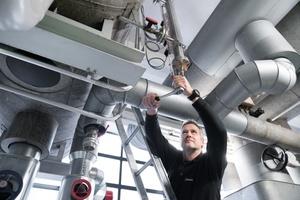 Neben der Reinigung übernimmt die Wisag in Luxemburg vermehrt auch technische Dienstleistungen wie Elektro- und Sicherheitstechnik sowie Wartung und Instandhaltung.  Foto: Wisag Industrie Service Holding, 2019
