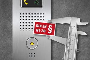 Behnke hat ein Aufzugnotruftelefon entwickelt, das eine normkonforme Umrüstung ermöglicht.