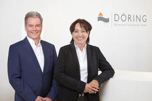Dipl.-Ing. Rolf Dubbel und Dipl.-Ing. Claudia Döring, die Geschäftsführer der Döring Beratende Ingenieure GmbH