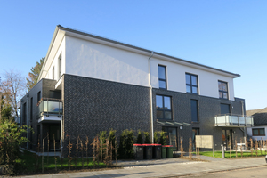 Der Neubau in Hamburg-Rahlstedt verfügt über elf Eigentumswohnungen.