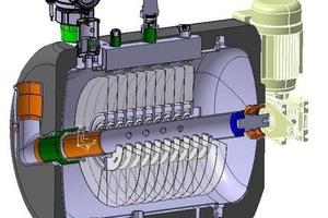 """Für die Filtration des Schmutzwassers verfügt der """"Heizungswasser-Selbstreiniger"""" über ein ca. 1 m<sup>2</sup> großes, mehrreihiges Filter-Nylonnetz von 30 μm, mit einer Filterwirkung bis 2 μm.<br />"""