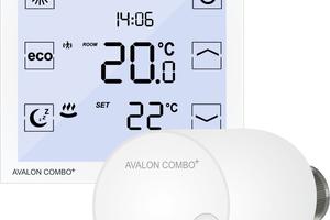 """""""Avalon Combo +"""" von blossom-ic ist eine smarte Heizungsregelung mit integriertem vollautomatischen dynamischen hydraulischen Abgleich."""