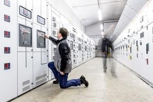 Mit aktuell sechs Mitarbeitern bietet der neue Standort der Wisag eine Rundumbetreuung im Bereich der Elektrotechnik – von der Stromversorgung bis hin zu kompletten Stark- und Schwachstrom-Installationen.