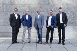 Die Geschäftsführung von Canzler mit (v.l.n.r.).: Andreas Broßmann, Michael Nolte, Andreas Stehling, Andreas Masiorek und Holger Richter