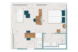 ... unterschiedlicher Apartments