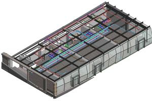 Die TePmA setzt seit 2015 auf die Planungsmethode BIM – so auch beim Umbau des Döppersberg in Wuppertal: Im Bild ist ein 3D-Planungsmodell der Geschäftsbrücke