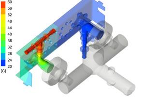"""Aus dem Prüfstand erzeugtes Simulationsmodell: Reduzierung der Wärmeübertragung mit """"MasterFix"""""""
