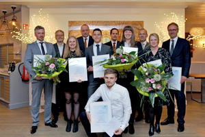 Die Auszeichnung fand im Lenné-Schlösschen in Bad Neuenahr statt.<br />