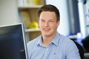 Der neue Sita Regionaltechniker Daniel Fecke ist bundesweit im Einsatz.