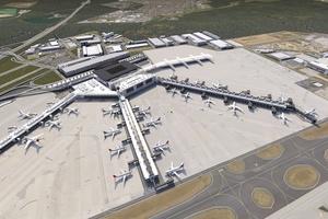 Caverion stattet am Flughafen Frankfurt am Main als Teil einer Arbeitsgemeinschaft unter Führung der Lindner AG den ersten Bauabschnitt des Flugsteigs G des neuen Terminals 3 ...
