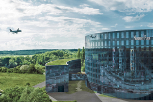 Das Hotel Nordport Plaza in unmittelbarer Nähe des Flughafens Hamburg ist seit einem Jahr in Betrieb.