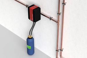 """Das """"All-in-One+"""" bietet mit dem Kartuschensystem zur Vollentsalzung, zur Vollentsalzung mit pH-Wert-Stabilisierung und zur Heizungswasserenthärtung eine ideale Lösung.<br />"""