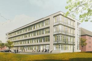 Die pbr AG erbringt die Gesamtplanung des Labor- und Verwaltungsgebäudes mit Hilfe der Planungsmethode Building Information Modeling (BIM).