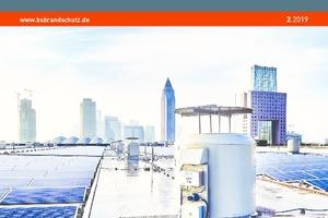 """Das Titelbild von BS BRANDSCHUTZ zeigt die Dachentrauchungsventilatoren """"RVD"""" mit dem smarten Ventilator-Diagnosesystem Trox X-Fans."""