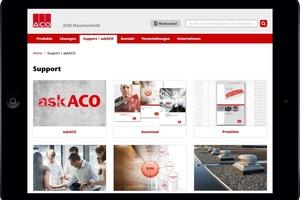 """Als zentraler Info-Pool fasst """"askACO"""" Informationen aus unterschiedlichen Quellen zusammen und führt Fragen(steller) aus unterschiedlichen Richtungen zur jeweils richtigen Antwort bzw. passenden Lösung."""