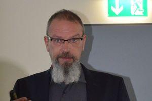 Thorsten Wallbrecht von Wilo wies auf das große Optimierungspotential im Bereich der Pumpen hin.