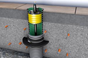 """Mit dem """"Kabuflex""""-System hat Fränkische eine normativ gültige Lösung nach den TAB 2019 zur sicheren Hauseinführung über die Bodenplatte im Sortiment."""