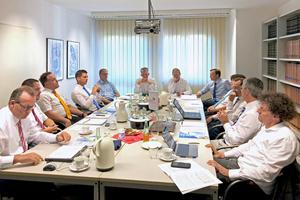 Die Gesprächsrunde traf sich in den Räumen des BTGA in Bonn zu einem konstruktiven Fachaustausch.