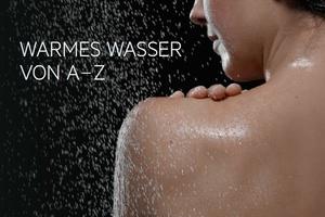 """AEG-Broschüre """"Warmes Wasser von A bis Z"""""""