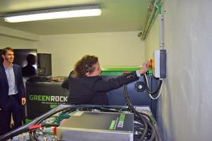 Die flämische Energieministerin Lydia Peeters nahm das Speichersystem im April 2019 in Betrieb.