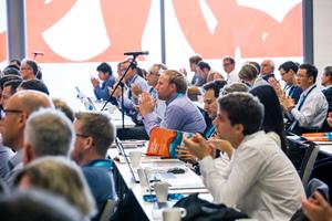 Interessiert hörten die Teilnehmer den Vorträgen der insgesamt 35 Referenten auf der englischsprachen Veranstaltung zu.