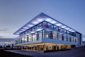 Das Gebäude der Schnepf Planungsgruppe in Nagold wird ...
