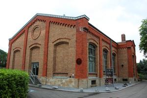 Diese Pumpstation in Haan bei Düsseldorf wird von ...