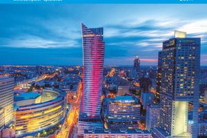 """Das Titelbild zeigt den """"Złota 44"""", einen Wolkenkratzer mit Luxusapartments in Warschau, der vom Studio Libeskind in Zusammenarbeit mit dem Warschauer Büro Artchitecture entworfen und mit der CAD- und BIM-Software """"Vectorworks Architektur"""" geplant wurde."""