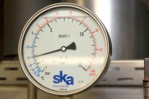 Die ska Industriekälte hat die Kälteanlage projektiert und eingebaut.