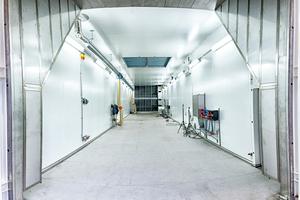ATP-Klimakammer zur Prüfung von Kühlfahrzeugen