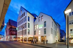 Das Riku-Hotel Ulm zeichnet sich durch ein modernes, junges Konzept aus.