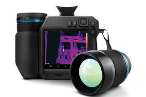 """Flir führt mit der """"T860"""" eine Hochleistungs-Wärmebildkamera für effizientere industrielle und bauthermografische Inspektionen ein, deren integrierte Ablaufplanungssoftware Inspektionen automatisiert und die Berichterstellung vereinfacht.<br />"""