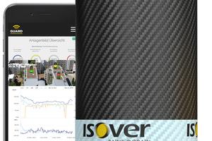 """Mit dem Isover-""""Guard System"""" lassen sich Feuchtigkeits- und Temperaturentwicklungen im Flachdach digital und voll automatisch überwachen."""