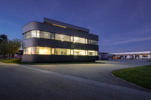 Das smarte Firmengebäude der Träumeland GmbH in Hofkirchen im Mühlkreis ...