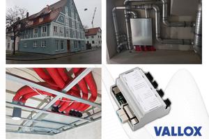 """Eingebaut in einem denkmalgeschützten Studentenwohnheim in Kempten: ein """"Commercial Line Vario 1500"""" mit neun """"Flat-Boxen"""" inkl. Universalregelung"""