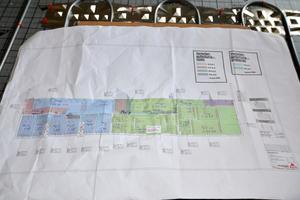 Service für Planer und Ausführende: Fußbodenheizungshersteller PYD erstellt auf Wunsch auch die Verlegepläne für das System.