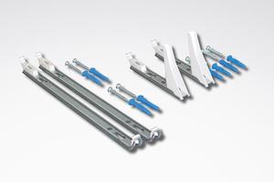 Für das gesamte Spektrum der Anforderungsklassen 1 bis 3 und teilweise auch für die Klasse 4 liefert der Hersteller Purmo entsprechende Wand- und Standkonsolen.