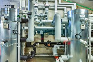 """Das """"MultiFlow Center"""" bietet die Möglichkeit zur Effizienzsteigerung durch optimale Ausnutzung der Restwärmemengen im Anlagenbau."""