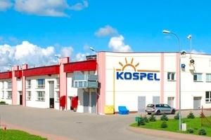 Das Firmengebäude von Kospel in Koszalin.