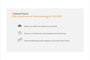 Die wichtigsten Änderungen in der überarbeiteten VDI 2015 wurden im Webinar herausgearbeitet.