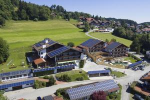 Zur Zertifizierung als Biohotel trägt im Hotel Eggensberger in Hopfen am See das regenerative Energiekonzept bei.