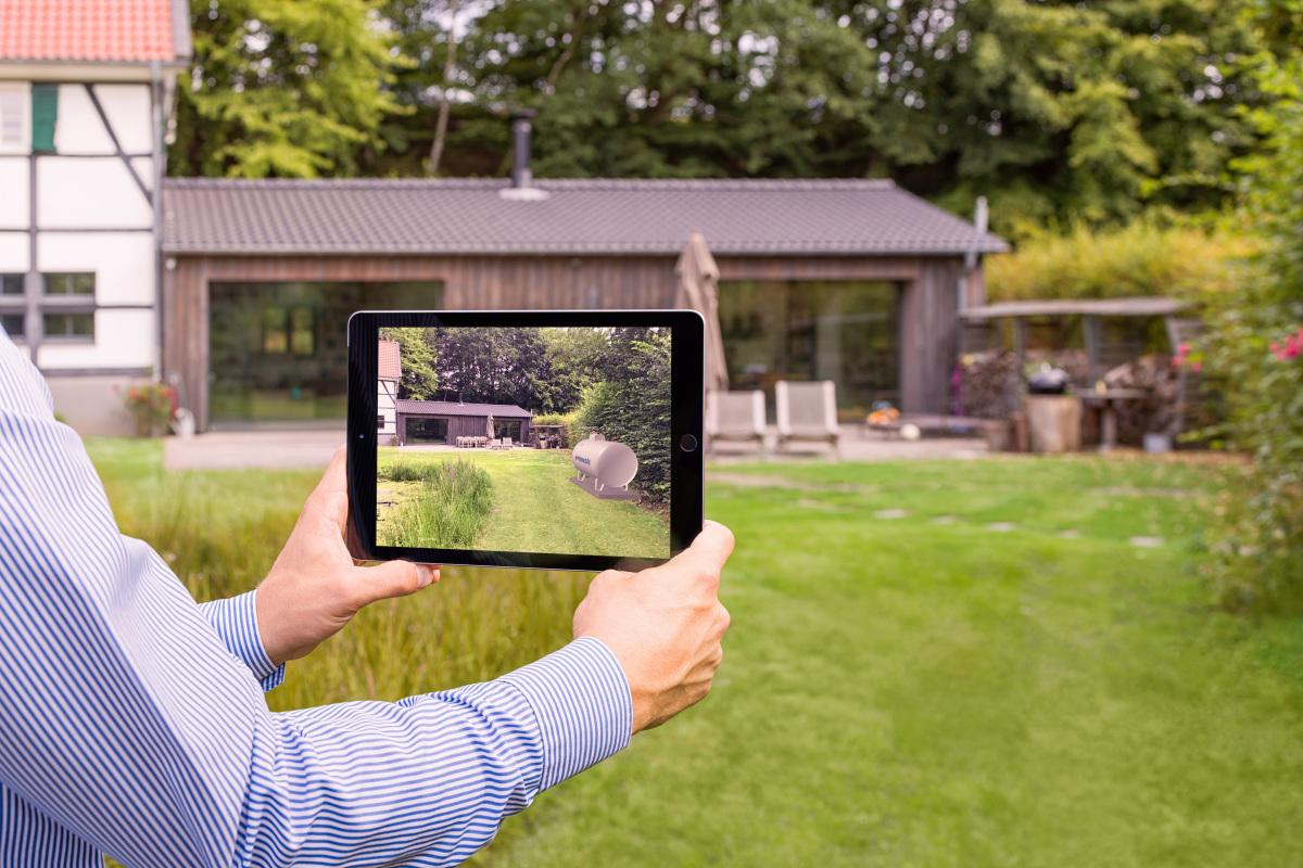 Augmented Reality App in der Kundenberatung   tab   Das ...