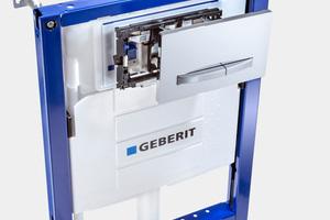 """Das """"DuoFresh""""-Modul hat nur eine geringe Aufbauhöhe von 5 mm und kann bei """"Sigma""""-Unterputz-Spülkästen ab Baujahr 2008 nachgerüstet werden, sofern ein Elektroanschluss vorhanden ist."""
