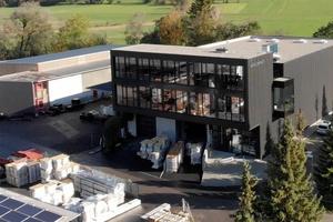 Der neue Firmensitz von Aerocompact in Satteins (Österreich)