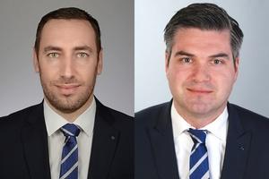 Sinisa Grubanovic (links) wird in der Niederlassung Süd-West für Filtertechnik zuständig sein, während Jochen Saxe (rechts) den Vertriebsinnendienst in Neukirchen-Vluyn leitet.
