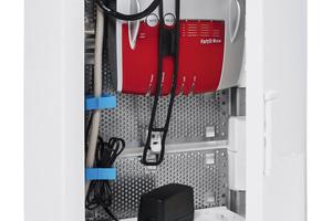 """Die Aufputz-Multimedia- und -Stromkreisverteiler der Serie """"Mistral 41W"""" bieten ausreichend Platz für Installationsprodukte und Mediaequipment."""
