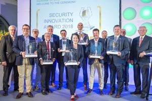 Preisträger des Security Innovation Award 2018