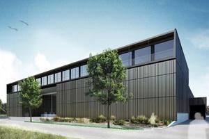 Hörburger Energietechnik errichtet in Rankweil den künftigen Firmensitz. Erste Bauetappe ist eine neue Fertigungsstätte für Luftkanäle und weitere Komponenten der Luft- und Klimatechnik.