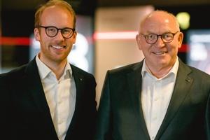 Mit der Kraft zweier Generationen unter der Führung von Prof. Dr. Martin Viessmann (rechts) als Chairman und Max Viessmann als Co-CEO.