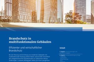 """Whitepaper """"Brandschutz in multifunktionalen Gebäuden""""<br />"""